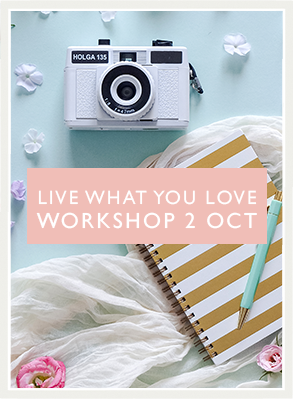 Attend the Live What You Love workshop and put fire under your photography business!