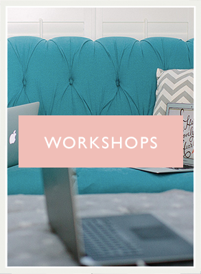 Attend one of our in-person workshops and put fire under your creative business!